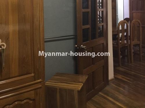 မြန်မာအိမ်ခြံမြေ - ငှားရန် property - No.4410 - မြောက်ဒဂုံတွင် ပရိဘောဂပါပြီး တိုက်ခန်းငှားရန် ရှိသည်။bedroom 2