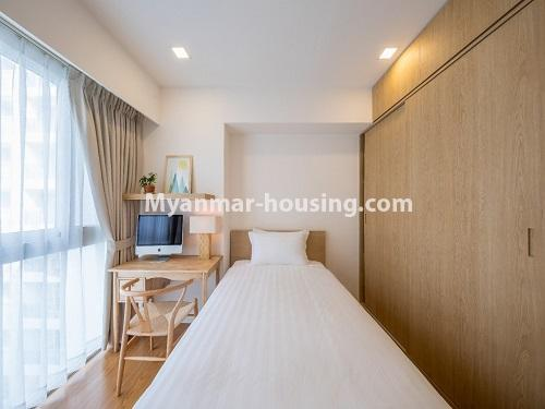 ミャンマー不動産 - 賃貸物件 - No.4426 - Luxurious condominium room with full facilities near Myanmar Plaza, Yankin! - single bedroom