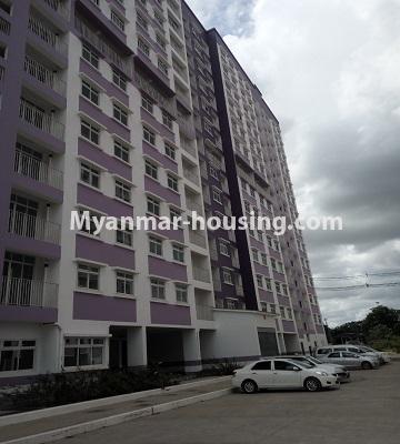 မြန်မာအိမ်ခြံမြေ - ငှားရန် property - No.4453 - ဗိုလ်တစ်ထောင် Time Square တွင် အိပ်ခန်းနှစ်ခန်းနှင့် ကွန်ဒိုခန်းငှားရန် ရှိသည်။building view