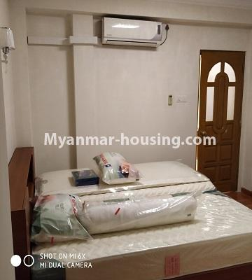Myanmar real estate - for rent property - No.4456 - Penthouse with beautiful decoration and full furniture for rent in the Heart of Yangon! - master bedroom 1