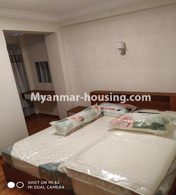 Myanmar real estate - for rent property - No.4456 - Penthouse with beautiful decoration and full furniture for rent in the Heart of Yangon! - master bedroom 2