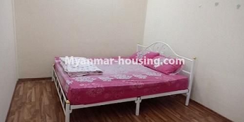 မြန်မာအိမ်ခြံမြေ - ငှားရန် property - No.4458 - မြို့ထဲ ပရိဘောဂပါသည့် ကွန်ဒိုခန်း ငှားရန်ရှိသည်။ bedroom