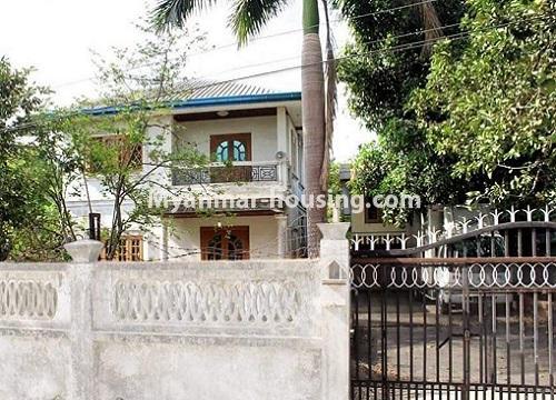 မြန်မာအိမ်ခြံမြေ - ငှားရန် property - No.4467 - သင်္ဃန်းကျွန်းတွင် လူနေရန် သို့မဟုတ် ရုံးခန်းဖွင့်ရန် လုံးချင်းအိမ် ငှားရန်ရှိသည်။house view
