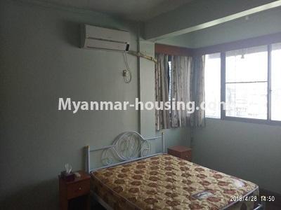 မြန်မာအိမ်ခြံမြေ - ငှားရန် property - No.4472 - စမ်းချောင်းတွင် ဈေးနှုန်းသင့်တော်သော ပရိဘောဂပါပြီး ကွန်ဒိုခန်း ငှားရန်ရှိသည်။master bedroom