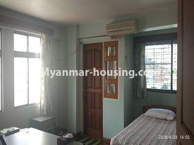 မြန်မာအိမ်ခြံမြေ - ငှားရန် property - No.4472 - စမ်းချောင်းတွင် ဈေးနှုန်းသင့်တော်သော ပရိဘောဂပါပြီး ကွန်ဒိုခန်း ငှားရန်ရှိသည်။single bedroom