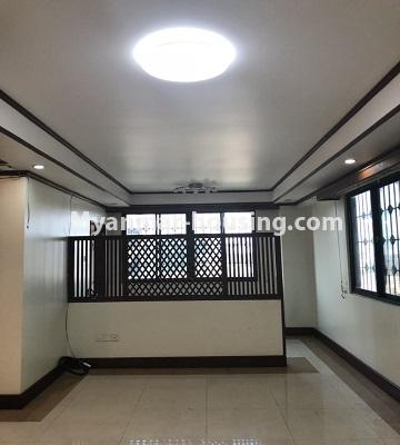 Myanmar real estate - for rent property - No.4474 - Decorated condominium room for office or residence or both in Pearl Condo, Bahan! - dining area