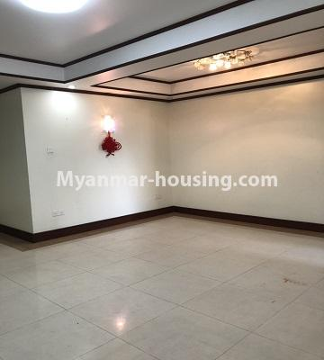 Myanmar real estate - for rent property - No.4474 - Decorated condominium room for office or residence or both in Pearl Condo, Bahan! - another hall area