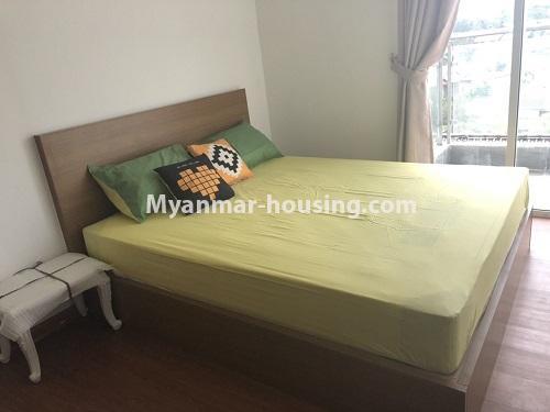 မြန်မာအိမ်ခြံမြေ - ငှားရန် property - No.4475 - စမ်းချောင်းမြို့နယ် စမ်းချောင်း Garden ကွန်ဒိုတွင် ပရိဘောဂပါပြီး အခန်းငှားရန် ရှိသည်။single bedroom