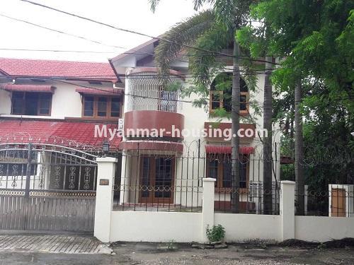 မြန်မာအိမ်ခြံမြေ - ငှားရန် property - No.4477 - မြောက်ဥက္ကလာတွင် နှစ်ထပ်အိပ် ငှားရန်ရှိသည်။ house view