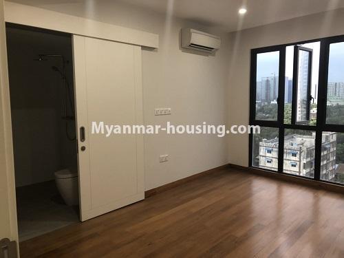 မြန်မာအိမ်ခြံမြေ - ငှားရန် property - No.4480 - စမ်းချောင်း မြတ်မင်္ဂလာကွန်ဒိုတွင် အခန်းငှားရန်ရှိသည်။master bedroom 1