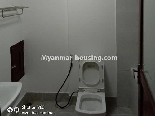 မြန်မာအိမ်ခြံမြေ - ငှားရန် property - No.4495 - စမ်းချောင်း၊ Sanchaung Garden Residence တွင် ခေတ်မှီကွန်ဒိုခန်း တစ်ခန်းငှားရန်ရှိသည်။bathroom 2