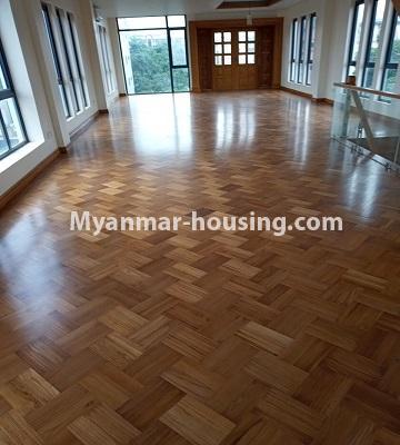 မြန်မာအိမ်ခြံမြေ - ငှားရန် property - No.4496 - Showroom ဖွင့််ချင်သူများအတွက် တောင်ဥက္ကလာမိန်းလမ်းမကြီးပေါ်တွင် RC3ထပ်ခွဲတစ်လုံး ငှားရန်ရှိသည်။third floor view