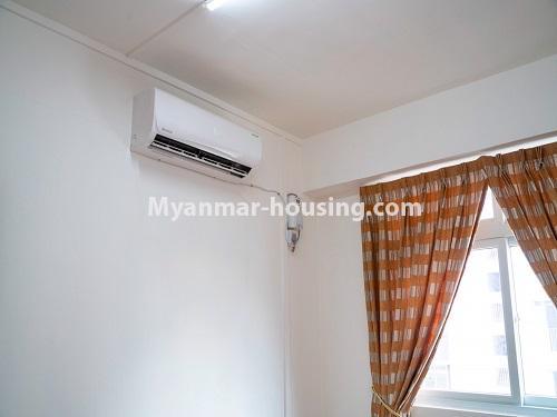မြန်မာအိမ်ခြံမြေ - ငှားရန် property - No.4499 - ဗိုလ်တစ်ထောင် Time Square တွင် အိပ်ခန်းနှစ်ခန်းနှင့် ကွန်ဒိုခန်းငှားရန် ရှိသည်။bedroom 2 view