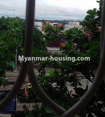 မြန်မာအိမ်ခြံမြေ - ငှားရန် property - No.4501 - ဗိုလ်တစ်ထောင်တွင် ရုံးခန်းဖွင့်ရန်အတွက် တိုက်ခန်းကျယ် ငှားရန်ရှိသည်။outside view