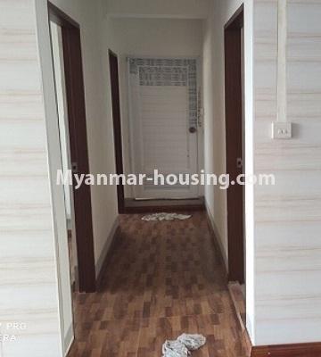 မြန်မာအိမ်ခြံမြေ - ငှားရန် property - No.4504 - ဗိုလ်တစ်ထောင် Time Square တွင် ပထမထပ် ကွန်ဒိုခန်းငှားရန် ရှိသည်။corridor