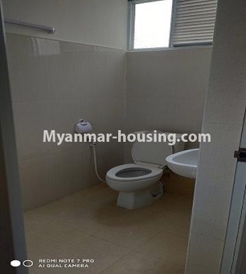 မြန်မာအိမ်ခြံမြေ - ငှားရန် property - No.4504 - ဗိုလ်တစ်ထောင် Time Square တွင် ပထမထပ် ကွန်ဒိုခန်းငှားရန် ရှိသည်။bathroom