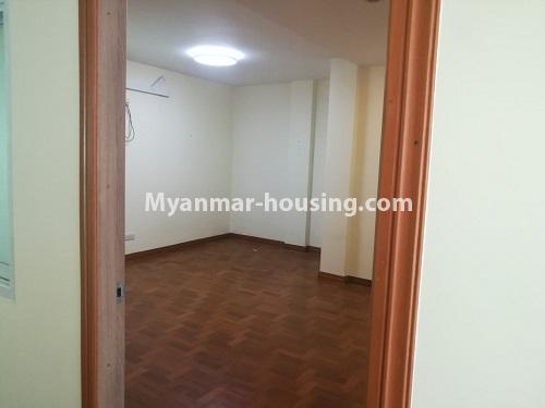 Myanmar real estate - for rent property - No.4507 - Decorated condominium room for office or residential option in Yangon Downtown! - single bedroom view