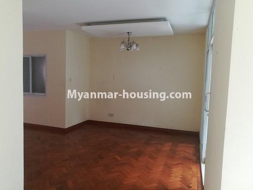 Myanmar real estate - for rent property - No.4507 - Decorated condominium room for office or residential option in Yangon Downtown! - another single bedroom view