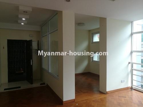 Myanmar real estate - for rent property - No.4507 - Decorated condominium room for office or residential option in Yangon Downtown! - another inside view