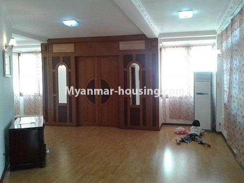 Myanmar real estate - for rent property - No.4509 - Three storey landed house for rent in Golden Valley, Bahan! - another view of second floor view