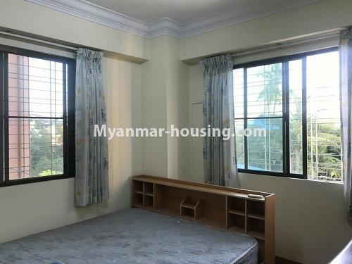 မြန်မာအိမ်ခြံမြေ - ငှားရန် property - No.4524 - မြို့ထဲ မြန်မာ့ဂုဏ်ရည်ကွန်ဒိုတွင်  အခန်ငှားရန်ရှိသည်။master bedroom 1