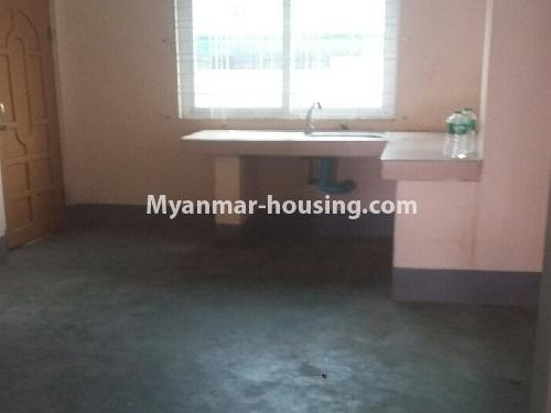 Myanmar real estate - for rent property - No.4539 - First floor condo room for rent on Yatana Road, South Okkalapa! - kitchen view