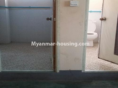 Myanmar real estate - for rent property - No.4539 - First floor condo room for rent on Yatana Road, South Okkalapa! - bathroom and toilet view