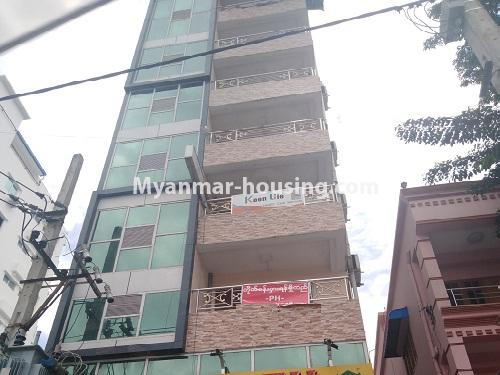 Myanmar real estate - for rent property - No.4539 - First floor condo room for rent on Yatana Road, South Okkalapa! - building view