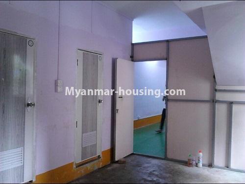 မြန်မာအိမ်ခြံမြေ - ငှားရန် property - No.4553 - ကျောက်တံတား ကျော်စီးတီးကွန်ဒိုတွင် ပထမထပ်ငှားရန်ရှိသည်။kitchen view