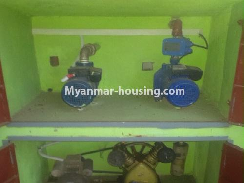 မြန်မာအိမ်ခြံမြေ - ငှားရန် property - No.4566 - ကြည့်မြင်တိုင်တွင် အသစ်ဆောက်လုပ်ထားသော ရှစ်ထပ်တိုက်ကွန်ဒိုအသေးစား ငှားရန်ရှိသည်။water pump view