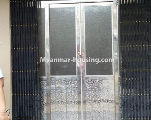 Myanmar real estate - for rent property - No.4574 - Ground floor for rent near Tharketa Capital! - main entrance view