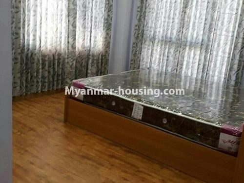 Myanmar real estate - for rent property - No.4575 - Furnished condominium room near Inya Lake for rent in Hlaing! - bedroom 1