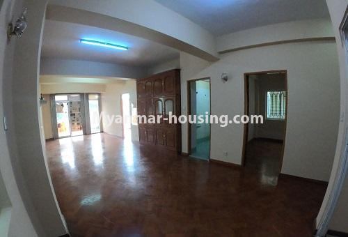 Myanmar real estate - for rent property - No.4576 - Shop House for rent in U Chit Maung Housing, Tarmway! - second floor hall view