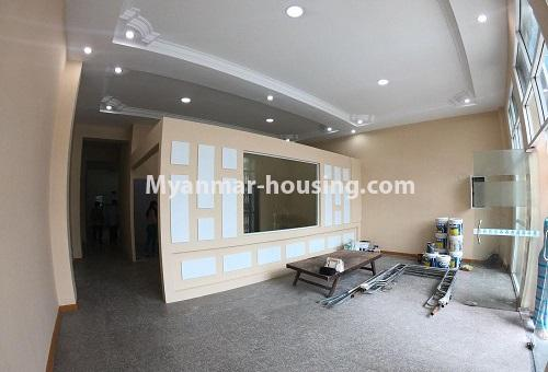 Myanmar real estate - for rent property - No.4576 - Shop House for rent in U Chit Maung Housing, Tarmway! - hall view decoration