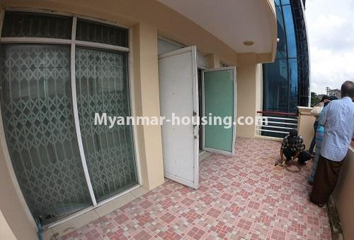 Myanmar real estate - for rent property - No.4576 - Shop House for rent in U Chit Maung Housing, Tarmway! - top floor view