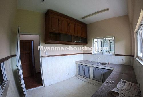 Myanmar real estate - for rent property - No.4576 - Shop House for rent in U Chit Maung Housing, Tarmway! - kitchen view