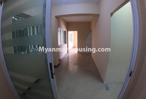 Myanmar real estate - for rent property - No.4576 - Shop House for rent in U Chit Maung Housing, Tarmway! - interior view