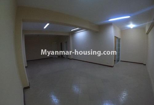 Myanmar real estate - for rent property - No.4576 - Shop House for rent in U Chit Maung Housing, Tarmway! - first floor hall view