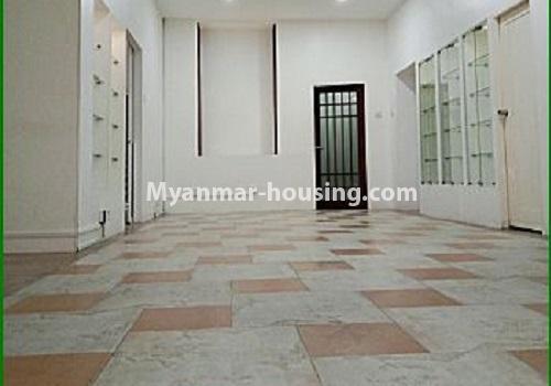 မြန်မာအိမ်ခြံမြေ - ငှားရန် property - No.4596 - ဗဟန်းတွင် အိပ်ခန်း ၂၅ခန်းပါသော လုံးချင်းအိမ် ငှားးရန်ရှိသည်။ground floor view