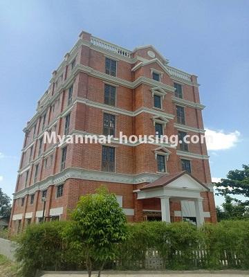 မြန်မာအိမ်ခြံမြေ - ငှားရန် property - No.4651 - မြောက်ဒဂုံတွင် အိပ်ခန်း ဆယ့်ရှစ်ခန်းပါသော ခြောက်ထပ်တိုက် ငှားရန်ရှိသည်။building view