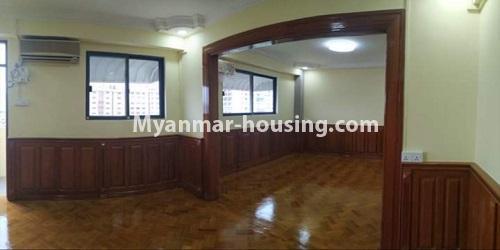 မြန်မာအိမ်ခြံမြေ - ငှားရန် property - No.4684 - ကြည့်မြင်တိုင်တွင် ရွေှဂုံသူကွန်ဒိုခန်း ငှားရန်ရှိသည်။another bedroom view