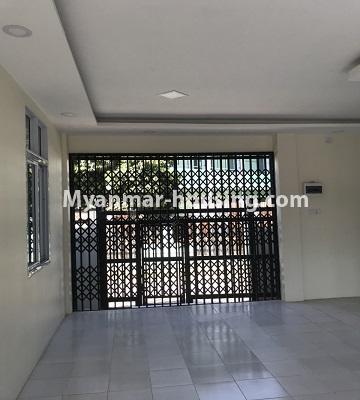 မြန်မာအိမ်ခြံမြေ - ငှားရန် property - No.4701 - အင်းစိန် ဘုရင့်နောင်လမ်းမပေါ်တွင် နှစ်ထပ်အိမ်တစ်လုံး ငှားရန်ရှိသည်။downstairs view