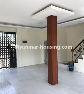 မြန်မာအိမ်ခြံမြေ - ငှားရန် property - No.4701 - အင်းစိန် ဘုရင့်နောင်လမ်းမပေါ်တွင် နှစ်ထပ်အိမ်တစ်လုံး ငှားရန်ရှိသည်။another view of downstairs
