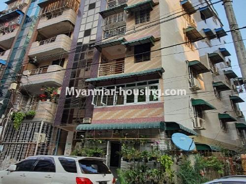 မြန်မာအိမ်ခြံမြေ - ငှားရန် property - No.4744 - စမ်းချောင်းတွင် အခန်းကောင်း Mini Condo  အခန်းငှားရန်ရှိသည်။building view