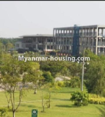 မြန်မာအိမ်ခြံမြေ - ငှားရန် property - No.4759 - အဆင့်မြင့်ပြင်ဆင်ထားသည့် အိပ်ခန်း၃ခန်းပါသည့်  အခန်းကောင်း ငှားရန်ရှိသည်။outside view from balcony