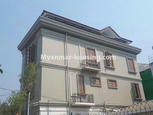 မြန်မာအိမ်ခြံမြေ - ငှားရန် property - No.4771 - အီတလီသံရုံးအနီးတွင် လုံးချင်း RC4ထပ် တိုက်သစ် တစ်လုံး ငှားရန်ရှိသည်။house view