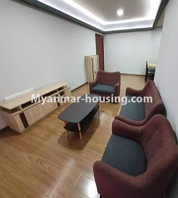 မြန်မာအိမ်ခြံမြေ - ငှားရန် property - No.4774 - Star City Condo တွင် အိပ်ခန်း သုံးခန်း ပါသည့် အခန်းကောင်း ငှားရန်ရှိသည်။another view of living room