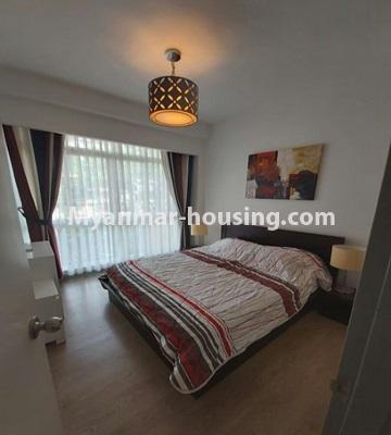 မြန်မာအိမ်ခြံမြေ - ငှားရန် property - No.4796 - Star City Condo တွင် အိပ်ခန်း တစ်ခန်း ပါသည့် အခန်းကောင်း ငှားရန်ရှိသည်။master bedroom view