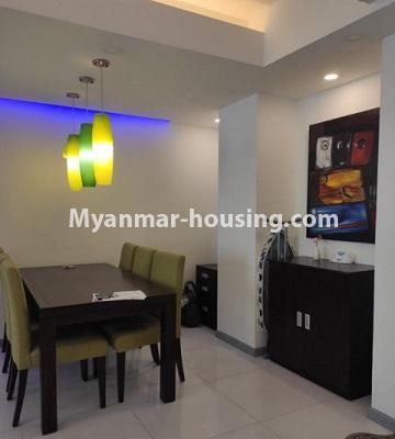 မြန်မာအိမ်ခြံမြေ - ငှားရန် property - No.4796 - Star City Condo တွင် အိပ်ခန်း တစ်ခန်း ပါသည့် အခန်းကောင်း ငှားရန်ရှိသည်။dining area view