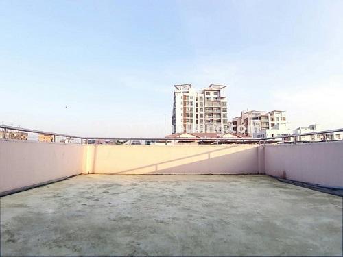မြန်မာအိမ်ခြံမြေ - ငှားရန် property - No.4803 - တောင်ဥက္ကလာတွင် သုံးထပ်တိုက်ငှားရန် ရှိသည်။top floor view